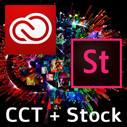 Adobe Creative cloud with Adobe Stock