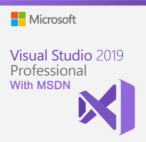Visual Studio Pro 2019 with MSDN