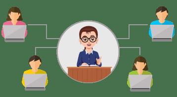 monitor classroom activities