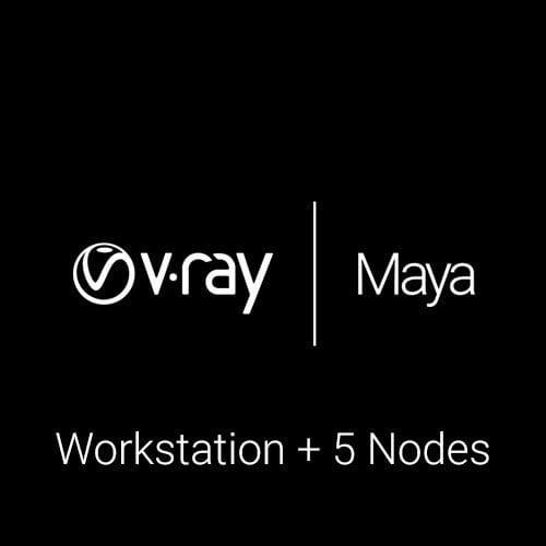 V-Ray for Maya WS + 5 RN