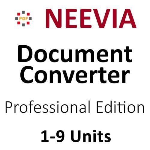 Document Converter Pro 1 to 9 units