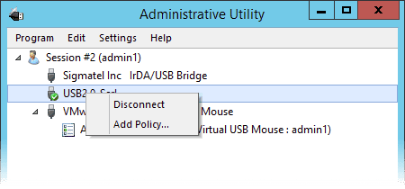 Auto-redirecting of hot-plugged USB devices