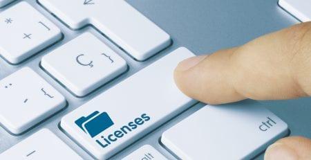 רישוי תוכנה - Licenses