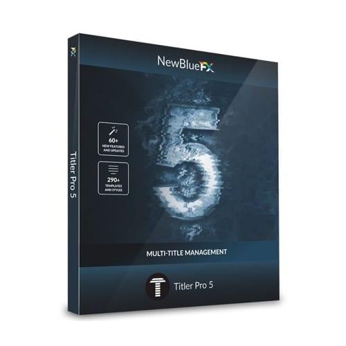NewBlue Titler Pro 5