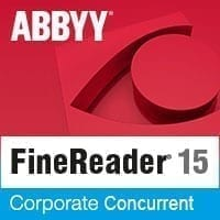 ABBYY FineReader 15 OCR Corporate Concurrent