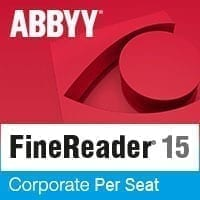 ABBYY FineReader 15 OCR Corporate Per Seat