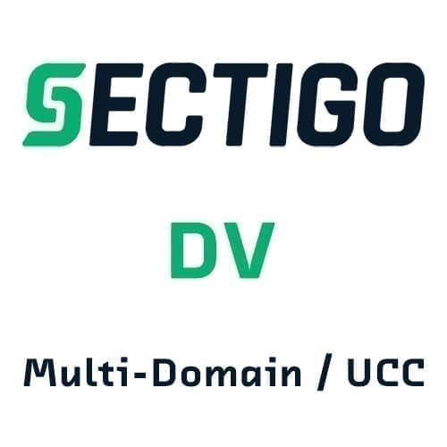 Sectigo DV Multi-Domain SSL Certificates