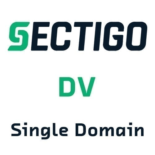 Sectigo DV SSL Certificates