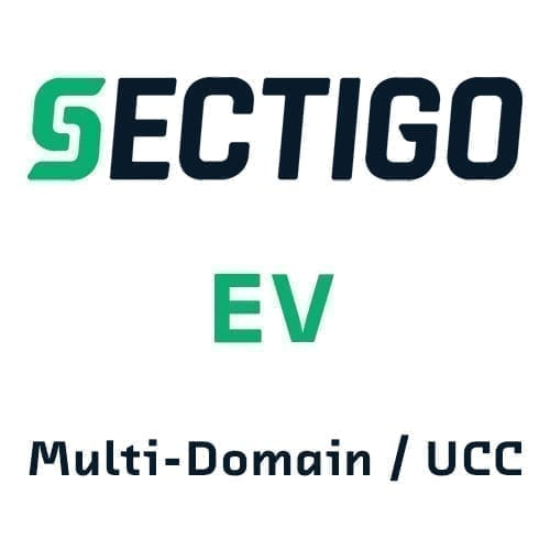Sectigo EV Multi-Domain SSL Certificates