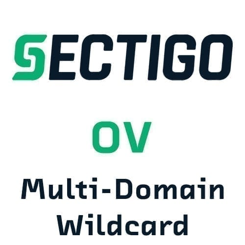Sectigo OV Multi-Domain + Wildcard SSL Certificates